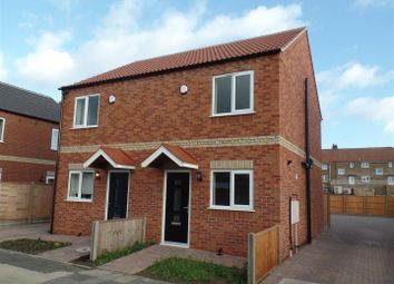 Thumbnail 2 bed semi-detached house for sale in Queen Mary Road, Lincoln