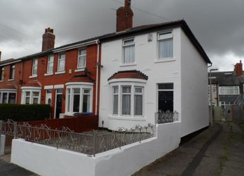 Thumbnail 3 bedroom end terrace house to rent in Towneley Ave, Blackpool