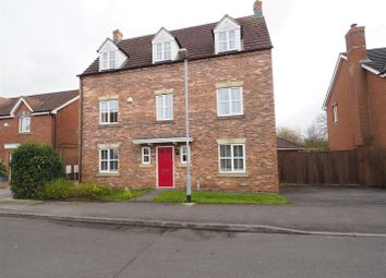 Thumbnail 5 bed detached house for sale in Syerston Way, Newark