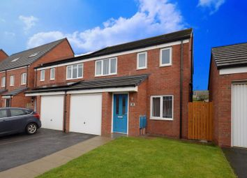 Thumbnail 3 bed semi-detached house for sale in Railbank Drive, Workington