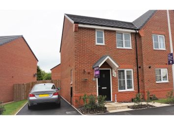 Thumbnail 3 bed semi-detached house for sale in Stonley Park, Crewe