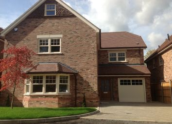 Thumbnail 6 bed detached house to rent in Walnut Close, Harpenden