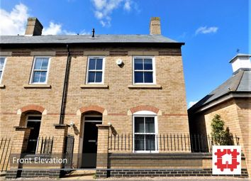 Thumbnail 3 bedroom end terrace house for sale in Dickens Boulevard, Stotfold, Herts