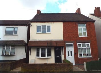 Thumbnail 2 bedroom semi-detached house for sale in Hednesford Road, Brownhills, Walsall