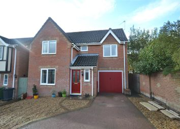 Thumbnail 4 bed detached house for sale in Wharton Drive, North Walsham