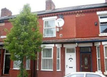 Thumbnail 2 bed terraced house for sale in Worthing Street, Manchester