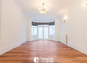 Thumbnail 4 bed flat to rent in Helenslea Avenue, London