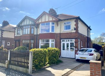 Thumbnail 3 bed semi-detached house for sale in Brookland Avenue, Wistaston, Crewe