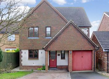 Thumbnail 4 bedroom detached house for sale in Thornhill Drive, Blunsdon, Swindon