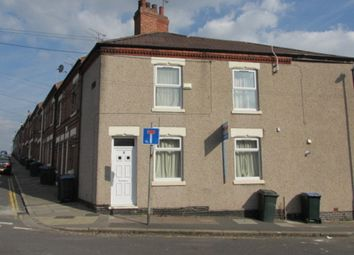 Thumbnail 4 bedroom end terrace house to rent in Brighton Street, Coventry