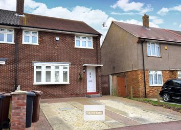 Thumbnail 3 bed semi-detached house for sale in Hazel Grove, Chadwell Heath, Romford