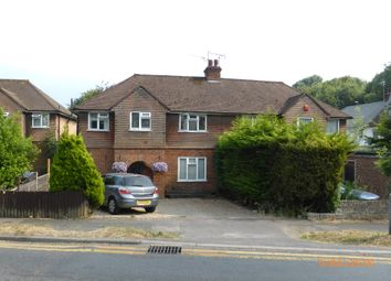 Thumbnail 3 bed semi-detached house to rent in Shelvers Way, Tadworth