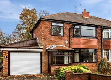 Thumbnail 3 bed semi-detached house for sale in Stetchworth Drive, Worsley, Manchester
