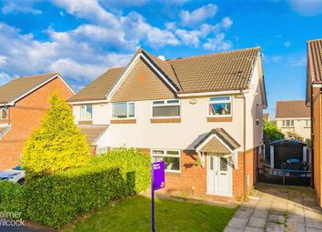 Thumbnail 3 bed semi-detached house for sale in Chinnor Close, Leigh, Lancashire