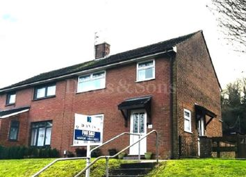 Thumbnail 3 bed semi-detached house for sale in Ringwood Hill, Newport, Gwent.