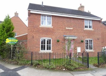 Thumbnail 4 bedroom detached house for sale in Russett Close, Barwell, Leicester
