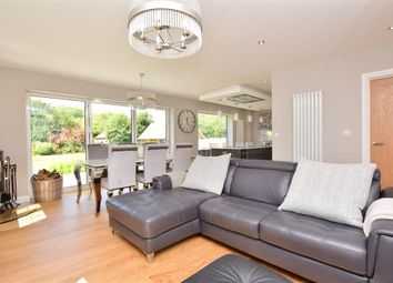 Thumbnail 4 bed detached house for sale in Canterbury Road, Selstead, Kent