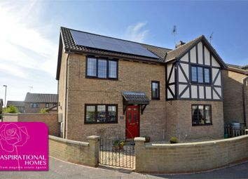 Thumbnail Detached house for sale in Wheelwright Close, Raunds, Northamptonshire