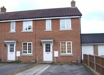 Thumbnail 2 bedroom end terrace house for sale in Whistlefish Court, Norwich