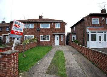 Thumbnail 2 bed semi-detached house to rent in Rose Crescent, Scawthorpe
