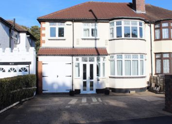 Thumbnail 4 bed semi-detached house for sale in Walsall Road, Great Barr, Birmingham