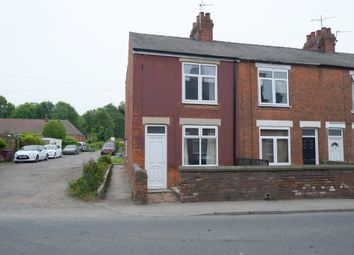 Thumbnail 2 bed end terrace house for sale in Barlborough Road, Clowne, Chesterfield