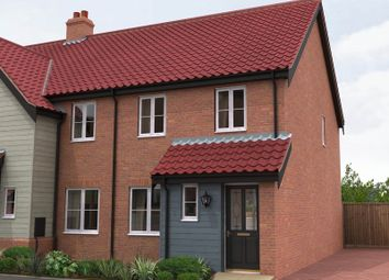 Thumbnail 2 bedroom terraced house for sale in The Ridings, Poringand, Norwich