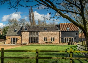Thumbnail 5 bedroom barn conversion for sale in Upwell Road, Christchurch, Wisbech