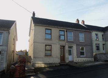 Thumbnail 3 bed semi-detached house for sale in Heol Bryngwili Cross Hands, Llanelli, Carmarthenshire.