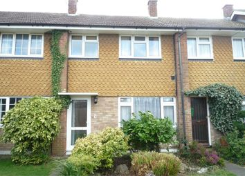 Thumbnail 3 bed terraced house to rent in Hilary Close, Herne Bay, Kent