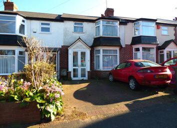 Thumbnail 3 bed terraced house for sale in Aubrey Road, Harborne, Birmingham