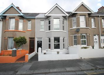 Thumbnail 3 bed terraced house for sale in Stroud Park Road, Plymouth