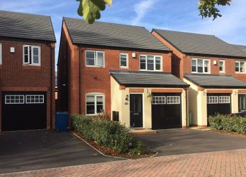 Thumbnail 3 bed detached house for sale in Green Close, Great Haywood, Staffordshire