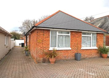 Sunnyside Road, Poole BH12. 3 bed detached bungalow for sale