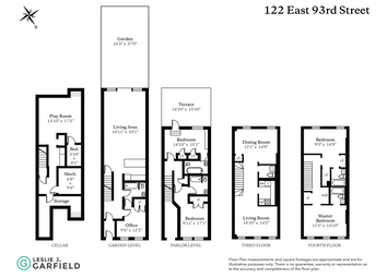Thumbnail Town house for sale in 122 East 93rd Street, New York, New York State, United States Of America
