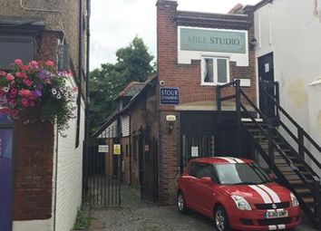 Thumbnail Office to let in Ground Floor Office, Mill Studio, Stour Street, Canterbury, Kent