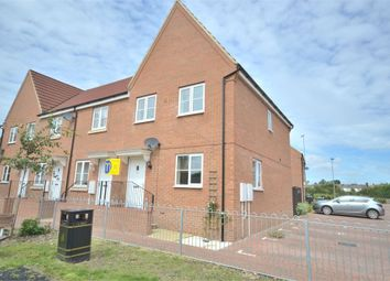 Thumbnail 3 bedroom end terrace house to rent in Dairy Way, King's Lynn