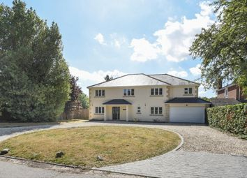 Thumbnail 5 bed detached house for sale in Longwater Lane, Wokingham
