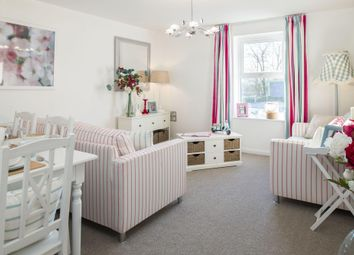 "Thumbnail 1 bedroom flat for sale in ""Helston"" at Walnut Close, Keynsham, Bristol"