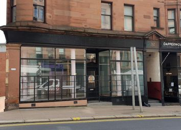 Thumbnail Retail premises to let in 284 High Street, Glasgow