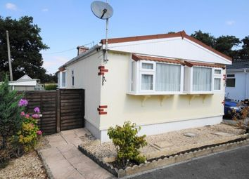 Thumbnail 2 bed mobile/park home for sale in West Drive, Oaktree Park, St. Leonards, Hampshire