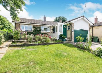 Thumbnail 3 bedroom detached bungalow for sale in The Street, Bulmer, Sudbury