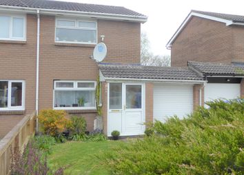 Thumbnail 2 bedroom semi-detached house for sale in Hunters Ridge, Brackla, Bridgend.