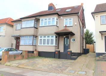 Thumbnail 4 bed semi-detached house for sale in Grange Hill, Edgware HA8, Middlesex