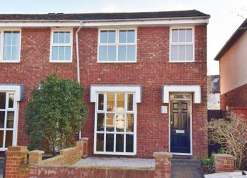 Thumbnail End terrace house to rent in Clonmel Road, Teddington