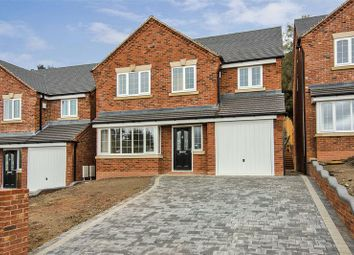 Thumbnail 4 bed detached house for sale in Rugeley Road, Hazel Slade, Cannock