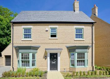 Thumbnail 4 bed detached house for sale in Keeling Lane, Brampton, Huntingdon.