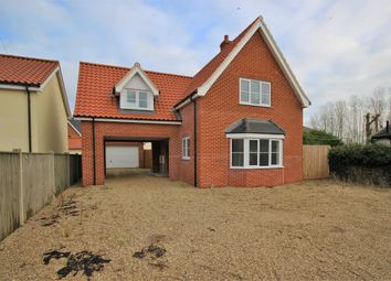 Thumbnail 4 bed detached house for sale in Stuston Road, Diss, Norfolk