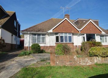 Thumbnail 2 bed semi-detached bungalow for sale in Downside, Shoreham-By-Sea
