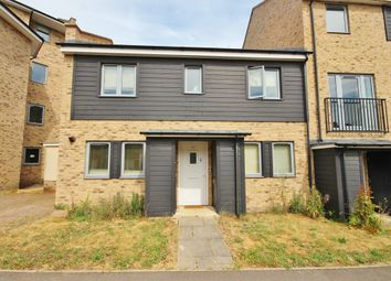 Thumbnail 3 bed end terrace house to rent in Woodhead Drive, Cambridge